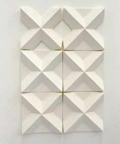 3D wall installation ( #tiles ) by Agnieszka Robak 2012