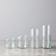 Handblown Recycled Glassware (Set of Carafe, Eden Project, Make A Case, Stemless Wine Glasses, Modern Glass, Gin And Tonic, Food 52, Ceramic Plates, Recycled Glass