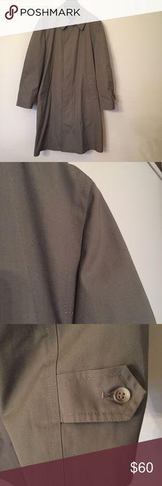 "VINTAGE London Fog All-Weather Coat Vintage London Fog All-Weather Coat with faux fur zip-out lining. In impeccable EUC.    Chest: 23""  Length: 40"" London Fog Jackets & Coats"