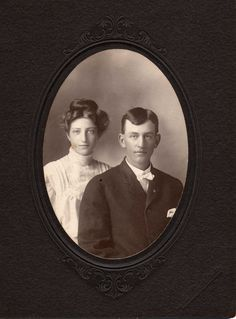 Glen & Nettie Mustain. May be a wedding photo. Terry Glen Mustain, Born 5 AUG 1883 • Fargo, ND. Died 5 OCT 1935 • Macomb, McDonough, Illinois, United States. Lineage: Thomas Mustain [born 1721-1725], Jesse Mustain, 1750, John Mustain, 1782, John Terry Mustain, 1824, George Mustain 1852, then Terry Glenn Mustain1884.http://wc.rootsweb.ancestry.com/cgi-bin/igm.cgi?op=GET&db=mustaing&id=I1669 AND http://mv.ancestry.com/viewer/5d773d18-440c-4e1c-a458-ec4003a2c9ad/9720262/186291607