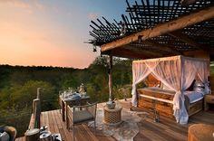 Lua de Mel em Hotéis Sobre Árvores - Hotel Lion Sands Ivory LOdge