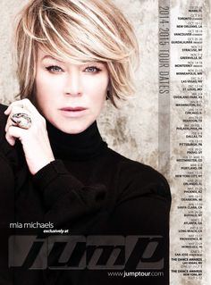Mia Michaels Hair! Like ashy highlights instead of golden