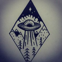 Fresh WTFDotworkTattoo Find Fresh from the Web #ufo #ovni #tradicional…