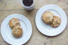 roasted pear and hazelnut brown butter scones | london bakes