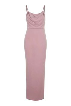 **Strappy Cowl Neck Maxi Dress by Wal G