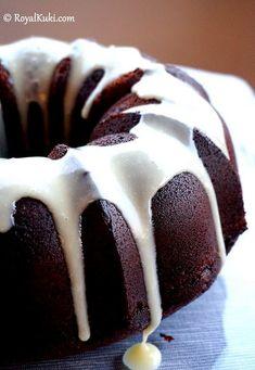 Kahveli Kakaolu Kek No Bake Desserts, Cake Cookies, Cheesecake, Pudding, Baking, Eat, Food, Cupcake, Cakes