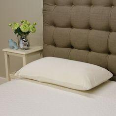 PostureLoft Celia Plush Latex Pillow, Black