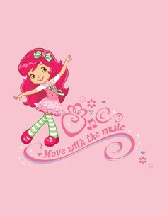 Another cute picture of Strawberry Shortcake.