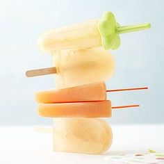 Kids Recipe, Cantaloupe Pops, Holiday Recipe, Recipes Sweets, Popsicle ...