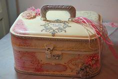 altered wedding memories suitcase