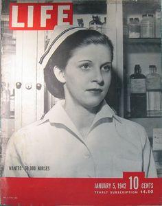 Cover of Life magazine, 1/5/42