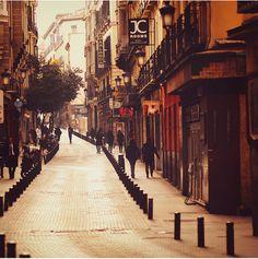 Calle de la Huertas, Madrid, Spain