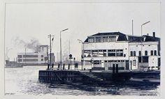 Maasboulevard Vlaardingen (jaartal: 1960 tot 1970) - Foto's SERC