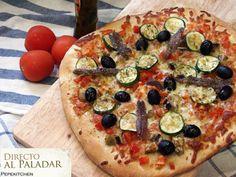 Deliciosa receta de masa para pizza, tanto para fina como esponjosa!!