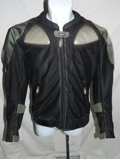 Cortech by Tour Master Men's Motorcycle Jacket Size SM/40    INV#0267 #Cortech #Motorcycle
