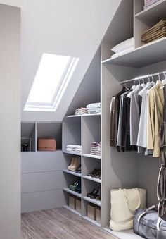 Total Dimension Of Dressing Room Mirror Ideas Little Vanity Table Tool With Furniture Enjoyable Drawers Modern Design Contemporary Establish. schrank Dressing Room Design for Inspiration You Attic Wardrobe, Attic Closet, Built In Wardrobe, Closet Doors, Small Walk In Wardrobe, Wardrobe Wall, Wardrobe Drawers, Garage Attic, Small Closets
