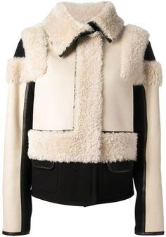 Chloé sheep skin jacket on shopstyle.com