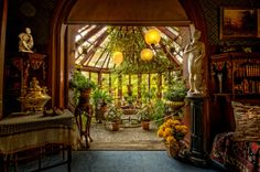 Mark Twain's Conservatory by Frank C. Grace (Trig Photography), via Flickr