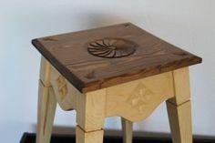 Madera Maciza – JCea Stool, Furniture, Home Decor, Hand Made, Pine, Decoration Home, Room Decor, Home Furnishings, Home Interior Design