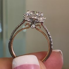 Verragio VENETIAN-5051R 0.45CTW Diamond Engagement Ring Setting