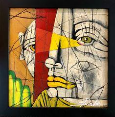 Untitled Vision 1 by Michael Banks Michael Banks, Atlanta Art, Outsider Art, Black Art, Contemporary Artists, Art Museum, Framed Art, Folk Art, Art Gallery