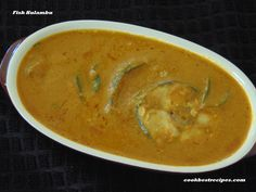 Fish Kulambu, is a best mouthwatering fish kulambu recipe.There are different styles of fish kulambu recipes. Fish Kulambu, Thai Red Curry, Good Food, Cooking, Ethnic Recipes, Baking Center, Koken, Health Foods, Eating Well