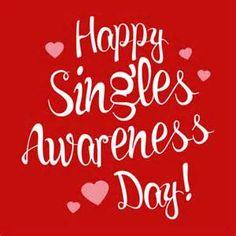 Happy Singles Awareness Day T-Shirt - Tanga