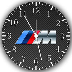 """New BMW M series wall Clock 10""""  will be nice Gift and Room wall Decor W268"""