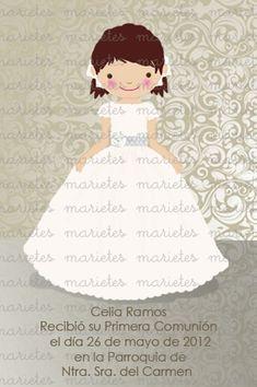 Recordatorios Primera Comunión - La casita de Martina   Blog Moda Infantil