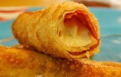 Fried Mozzarella-Pepperoni Egg Roll - The Idea King