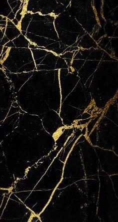 Glamour oro marmol negro