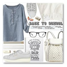 """Back To School"" by stylemoi-offical ❤ liked on Polyvore featuring Kate Spade, Acne Studios, Joseph Marc, Bobbi Brown Cosmetics, BackToSchool, polyvorecommunity, polyvoreeditorial, polyvoreset and PolyvoreMostStylish"