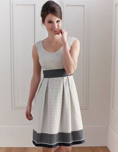 Spot Dress by Pepperberry - Dresses made for us with big tatas!  In love!