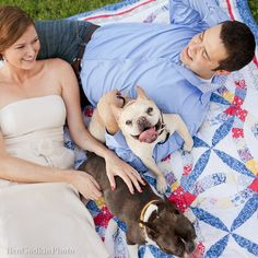 engagement photo dogs - Google Search