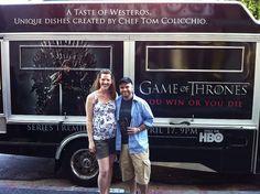 Game of Thrones Food Truck    Like if you enjoy reading books :) http://gameofthronesbooks.net/