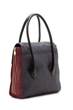 Pour La Victoire colorblocked satchel~