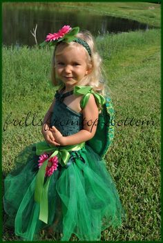 Turtle Tutu Costume ... 4 pcs included ... by frillsfromtop2bottom