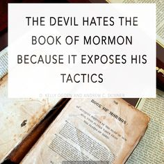 Nephi provides the most detailed explanation of Satan's strategy found anywhere in scripture. A great deal can be gleaned about the devil's methods by studying all of 2 Nephi 28. http://www.knowhy.bookofmormoncentral.org/content/how-does-the-devil-lead-us-astray #BookofMormon #Mormon #LDS #Temptations