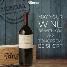 ¿Preparados para la vuelta al trabajo? Estamos seguros de que hoy necesitas una buena copa de Muga para afrontar esta nueva etapa con las pilas cargaditas de energía y optimismo. ¡Mucho ánimo! ;-) 2016! //// Ready to get back to work? We're sure that today a nice glass of Muga will be just the thing to help you face the new year with energy and optimism. Positivity is key! ;-)¿Preparados para la vuelta al trabajo? #vino #wineinmoderation #winelover #wineoclock #wineonmytime #instavino