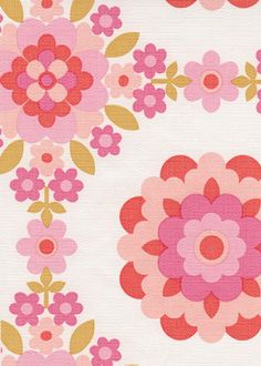 Would love this wallpaper in my daughters room - and mine!