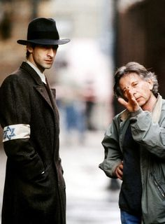 Adrien Brody and  Roman Polanski /  The Pianist / a performance of a life time