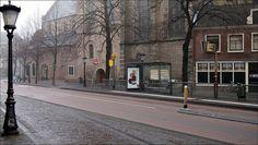 bushalte 'Janskerkhof' van o.a. lijn 3 op het Janskerkhof by ncarkesteijn, via Flickr