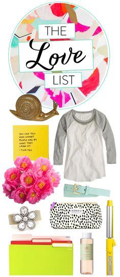 The Love List via OFD
