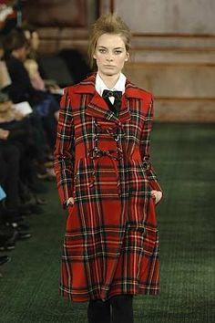 Stewart Tartan ensemble. Love tartan, love coats...together it is heavenly!