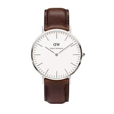 Buy your Daniel Wellington Classic Bristol Silver® Watch from an authorised retailer with free worldwide delivery. November 2016 collection and 5% off your first order