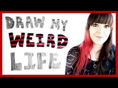 I have a very weird life. I hope it fills you with enjoyment. ♥ This is my life so far. Echo Gillette, Sketchbook Pro, Youtubers, Weird, Tutorials, Draw, Face, Artist, Movie Posters