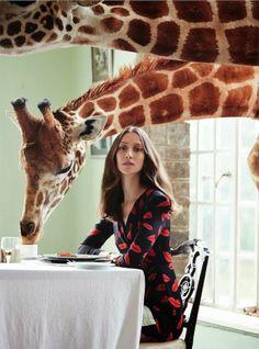 Harper's Bazaar UK / Giraffe Manor