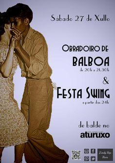 Obradoiro de Balboa & Festa Swing, Aturuxo (Bueu) 27/07/13