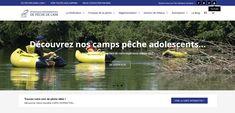 Bienvenue sur notre site officiel. Commandez en ligne votre carte de pêche 2018 ou trouver votre coin de pêche idéal grâce à notre toute nouvelle carte interactive du département de l'Ain... Ain, Site Officiel, Interactive Map, Welcome, Baby Born, Camping France