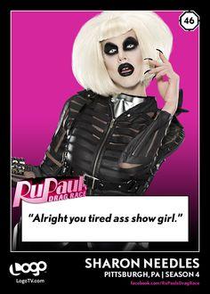 It's RuPaul's Drag Race Trading Card Thursday #46: Sharon Needles!